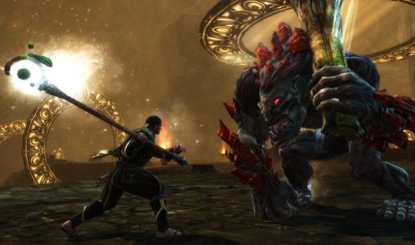 Kingdoms-of-Amalur-Reckoning-mago vs troll