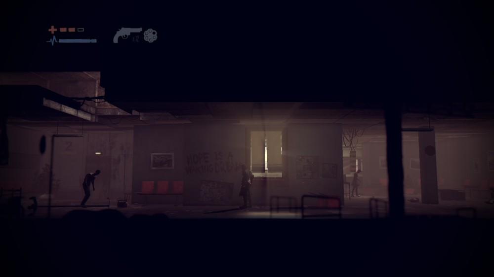 Deadlight - pasillo de hospital